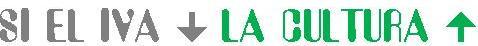 Logo IVA baja Cultura Subre